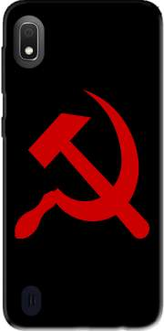 Futerał Back Case Communist sickle and hammer dla Samsung Galaxy A10