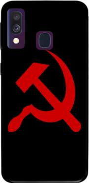 Futerał Back Case Communist sickle and hammer dla Samsung Galaxy A40