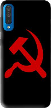 Futerał Back Case Communist sickle and hammer dla Samsung Galaxy A50