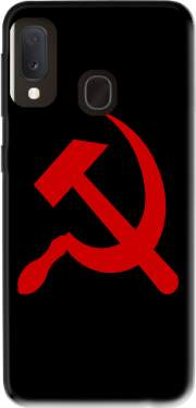 Futerał Back Case Communist sickle and hammer dla Samsung Galaxy A20E