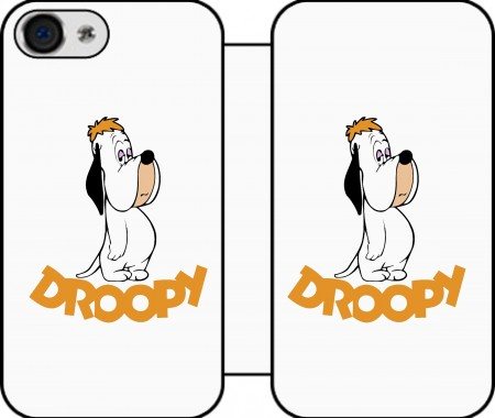 Etui z portfelem Droopy Doggy dla Iphone 4